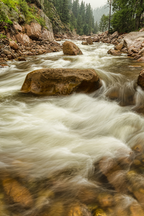 Rocky Mountain Streaming  wall art