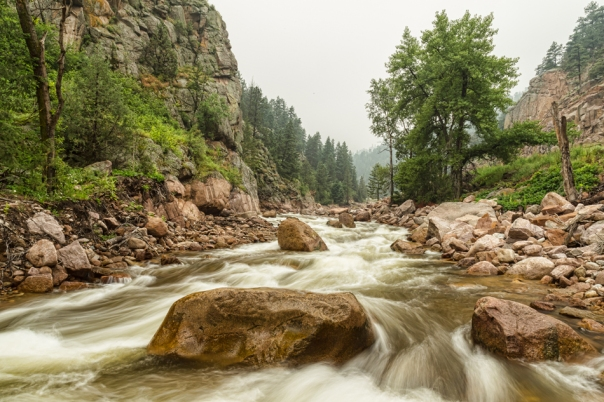 South St Vrain Canyon Boulder County Colorado Wallart
