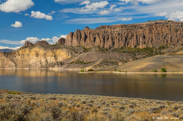Blue Mesa Dillon Pinnacles Art print