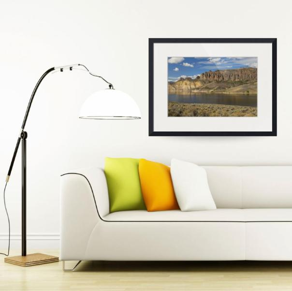 Blue-Mesa-Dillon-Pinnacles_framed art print