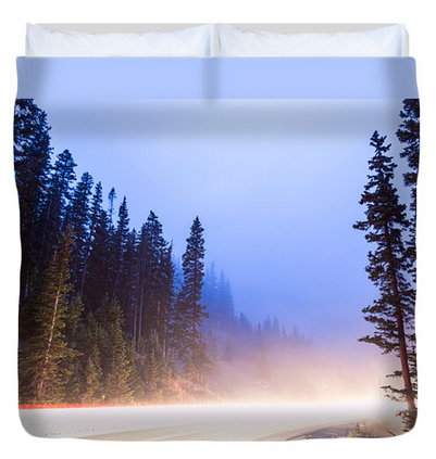 Heaven Can Wait King Duvet Cover