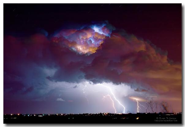 Thunderstorm Over Dacona