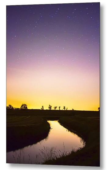 As Nighttime Falls Metal Print